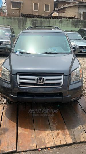 Honda Pilot 2006 EX-L 4x4 (3.5L 6cyl 5A) Gray | Cars for sale in Lagos State, Yaba