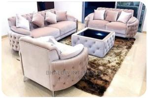 Complete Set of Fabric Sofa With Center Table | Furniture for sale in Lagos State, Ikeja