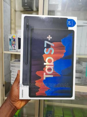 New Samsung Galaxy Tab S7+ 128 GB Black | Tablets for sale in Lagos State, Ikeja