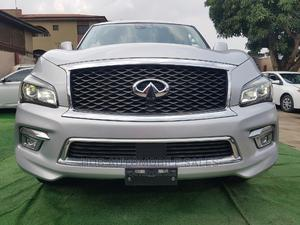 Infiniti QX80 2015 Silver   Cars for sale in Lagos State, Ikeja