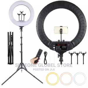 Original Ring Light With Remote Control 18inches | Accessories & Supplies for Electronics for sale in Lagos State, Maryland