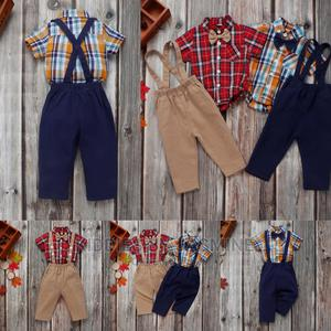 Baby Boy 2 Piece With Suspenders | Children's Clothing for sale in Lagos State, Alimosho