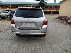 Toyota Highlander 2008 Limited 4x4 Silver   Cars for sale in Lagos State, Surulere
