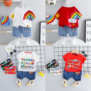 Baby Boy Stylish 2 Piece | Children's Clothing for sale in Lagos State, Alimosho