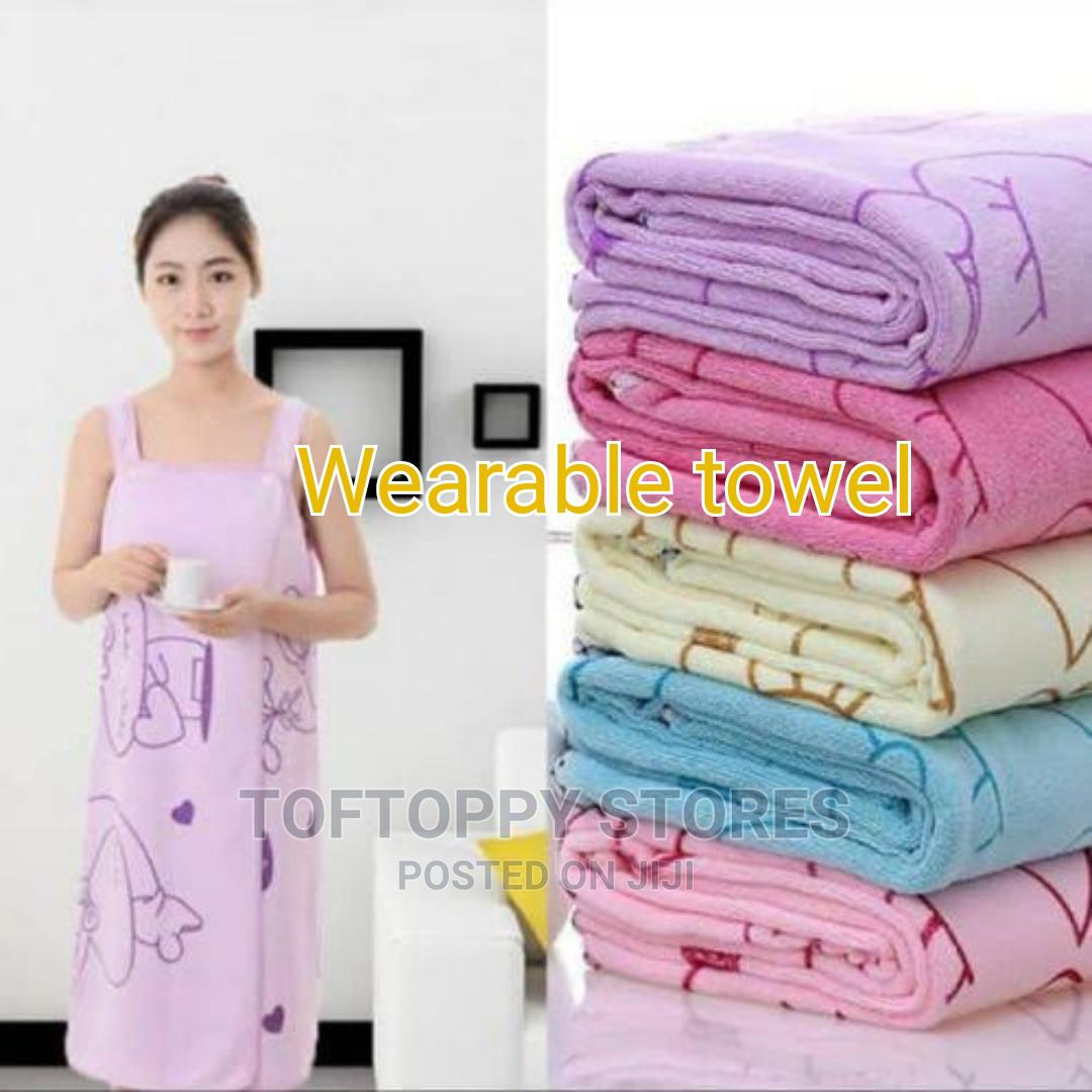 High Quality Wearable Towel