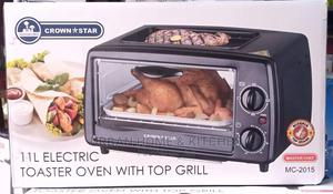 Crown Star 11L Electric Toaster Oven With Top Grill   Kitchen Appliances for sale in Lagos State, Ifako-Ijaiye