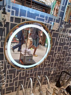 Round Portable L E D Mirror | Home Accessories for sale in Lagos State, Orile