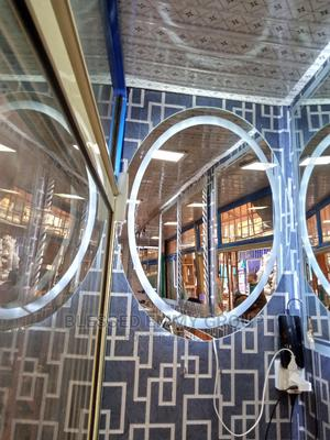 Egg Shape L E D Mirror | Home Accessories for sale in Lagos State, Orile