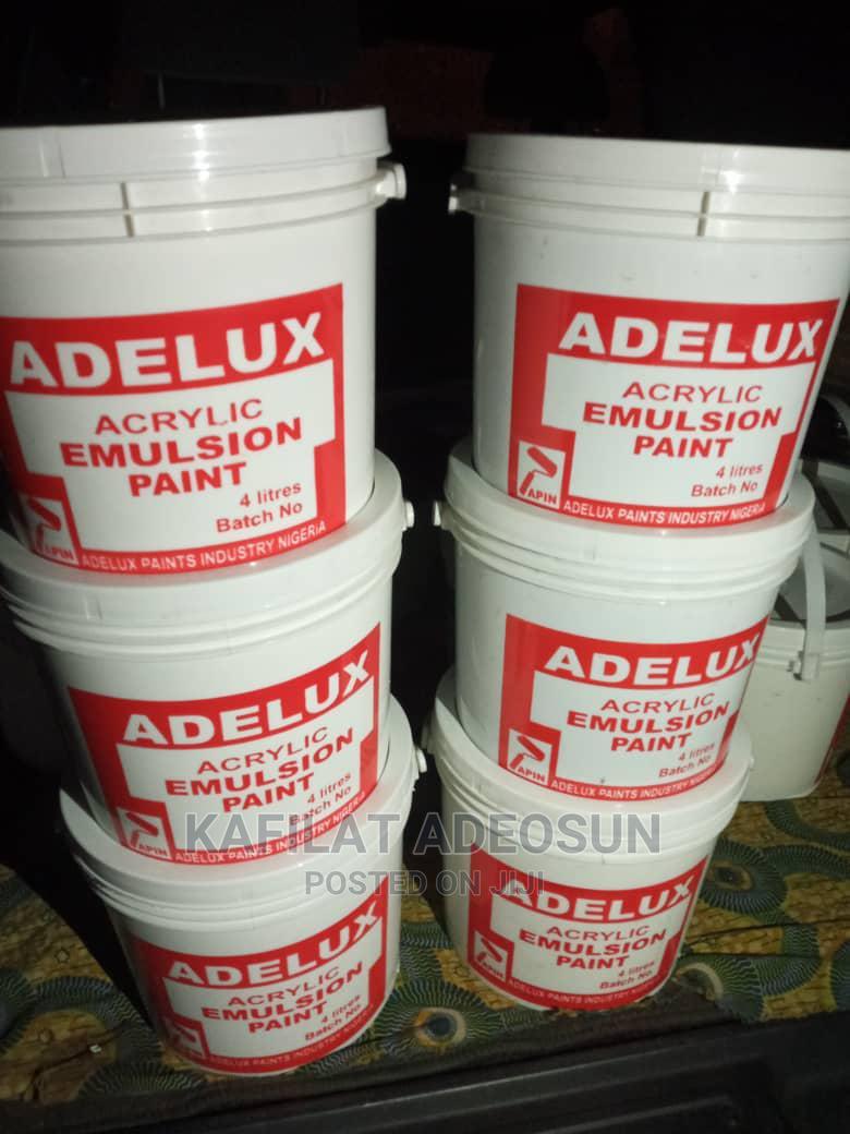 Archive: Adelux Acrylic Emulsion Paints