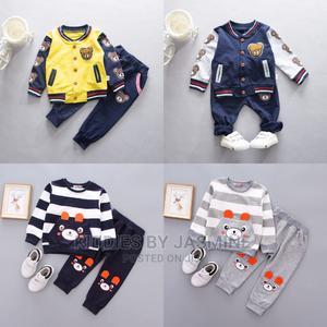 Boy Fantastic Bear 2 Piece Set   Children's Clothing for sale in Lagos State, Alimosho