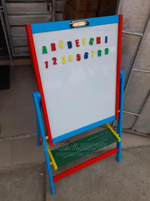 Double Sided Magnetic Wooden Standing Drawing Writing Board   Stationery for sale in Lagos State, Lagos Island (Eko)