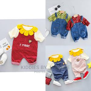 Unisex Baby Dungarees Set | Children's Clothing for sale in Lagos State, Alimosho