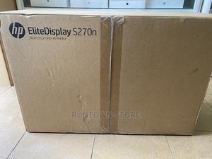 "HP Elitedisplay S270n 27"" 4K IPS Monitor Brand New | Computer Monitors for sale in Lagos State, Ikeja"