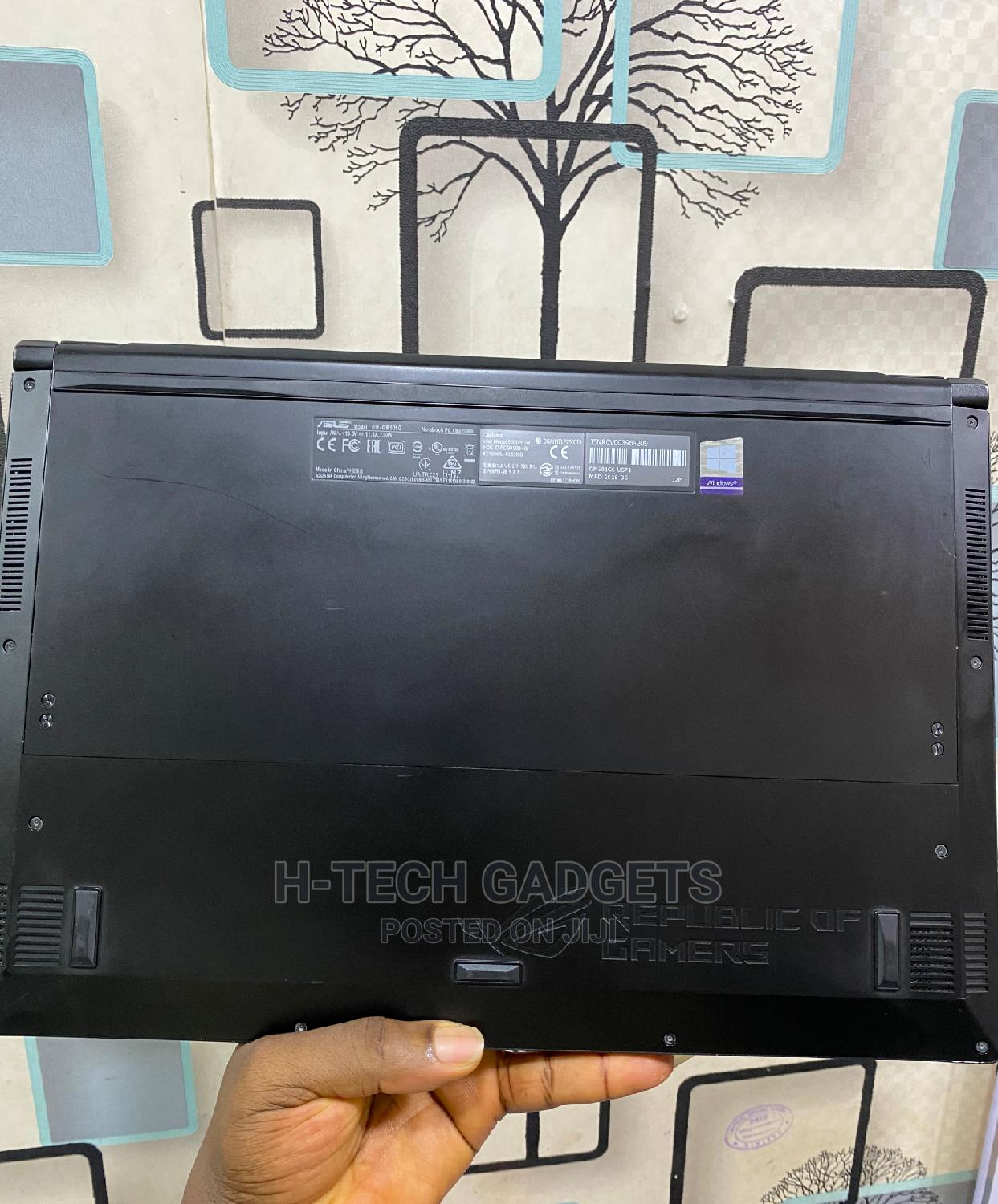Laptop Asus ROG Zephyrus M (GM501) 16GB Intel Core I7 SSHD (Hybrid) 1T   Laptops & Computers for sale in Ikeja, Lagos State, Nigeria