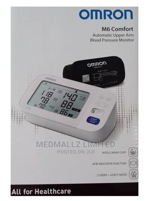 Omron M6 Comfort Automatic Upper Arm Blood Pressure Monitor   Medical Supplies & Equipment for sale in Akwa Ibom State, Uyo