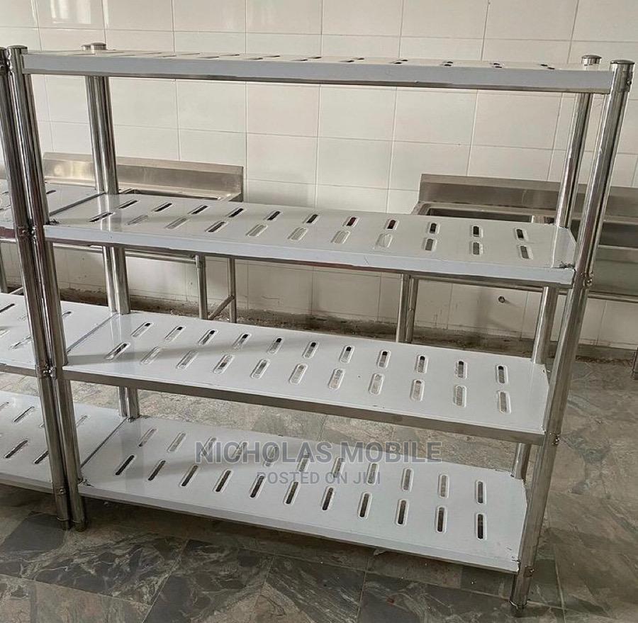 Stainless Steel 5ft Bread Dough Cooling Rack Shelf