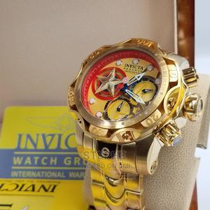 Invicta Chain Wristwatch Gold | Watches for sale in Lagos State, Lagos Island (Eko)