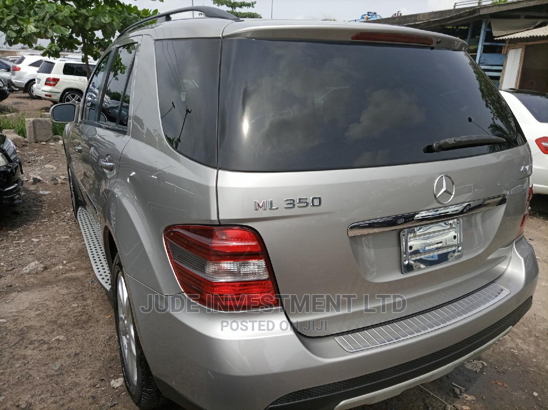 Archive: Mercedes-Benz M Class 2008 ML 350 4Matic Gray