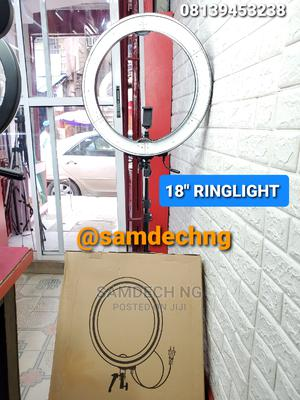 Universal 18inchs LED Ring Light Professional Makeup | Accessories & Supplies for Electronics for sale in Lagos State, Lagos Island (Eko)