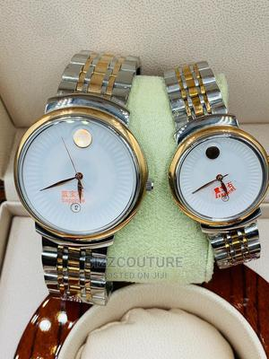 High Quality Movado Silver Couples Watch   Watches for sale in Lagos State, Magodo