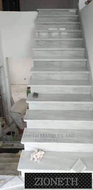 Italian Ralpris White Marble Slab/Quartz Marbles | Building Materials for sale in Lagos State, Orile