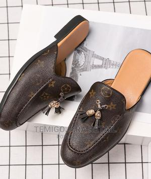 Louis Vuitton Volataire Men's Slide Half Loafers in Brown   Shoes for sale in Lagos State, Gbagada