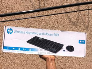 HP Wireless Keyboards and Mouse 200   Computer Accessories  for sale in Abuja (FCT) State, Lokogoma