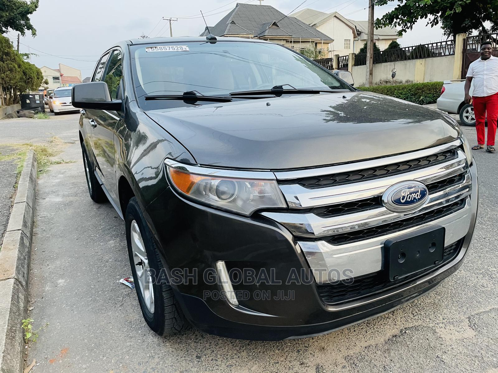 Ford Edge 2011 SE 4dr FWD (3.5L 6cyl 6A) Brown | Cars for sale in Ikeja, Lagos State, Nigeria