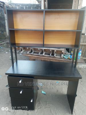 Office Table With Book Shelf   Furniture for sale in Lagos State, Ojo