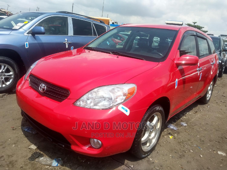 Archive: Toyota Matrix 2005 Red