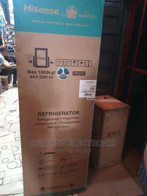 Hisense Double Door Refrigerator   Kitchen Appliances for sale in Lagos State, Oshodi