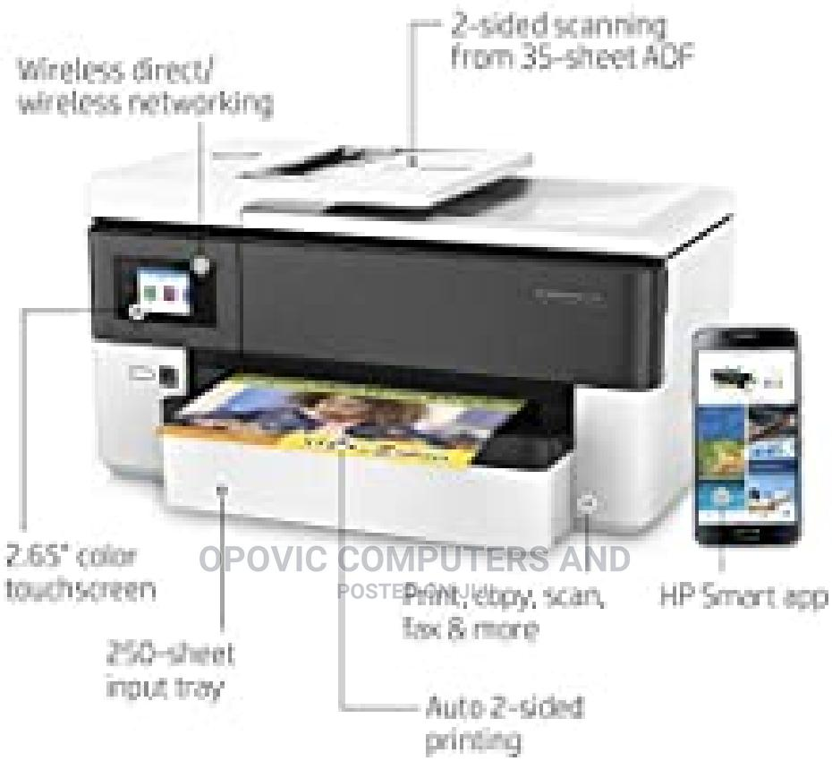 HP Officejet 7720 Wide Format Printer   Printers & Scanners for sale in Wuse 2, Abuja (FCT) State, Nigeria