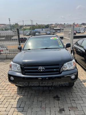 Toyota Highlander 2007 Sport 4x4 Black | Cars for sale in Lagos State, Ikeja