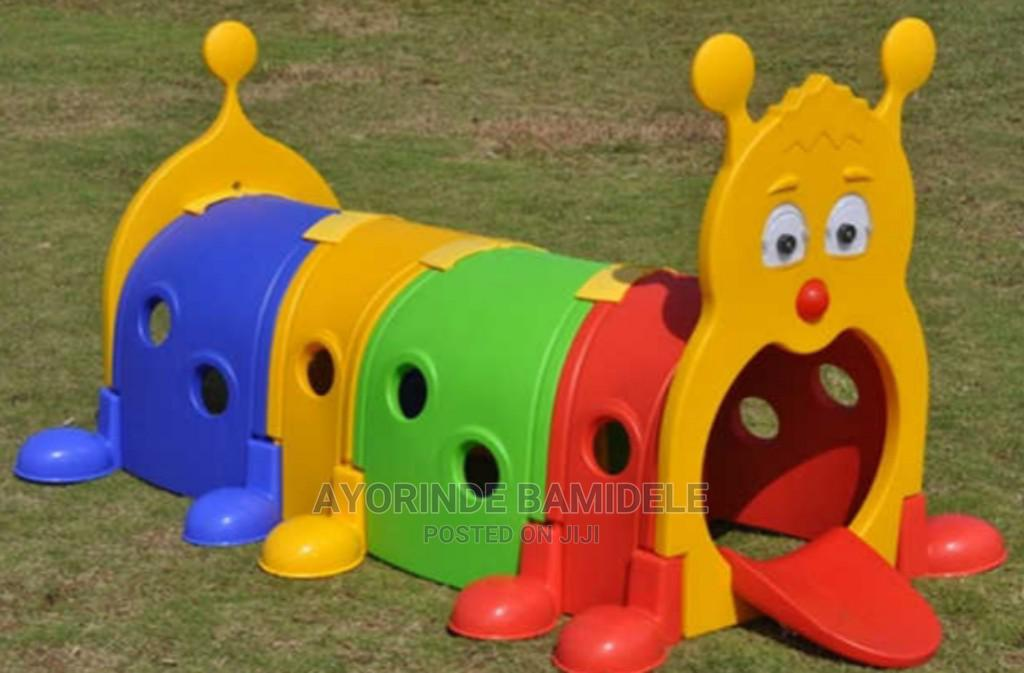 Roll Tube Play Tunnel for Kids