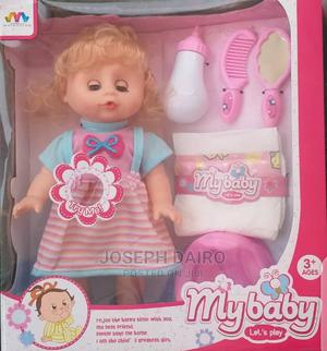 Girl Baby Doll With Comb Potty Feeding Bottle | Toys for sale in Lagos State, Kosofe