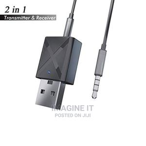 2-In-1 Bluetooth Audio Receiver Transmitter Wireless Adapter | Audio & Music Equipment for sale in Lagos State, Surulere