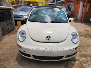 Volkswagen Beetle 2008 Beige | Cars for sale in Lagos State, Alimosho