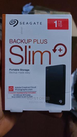 Seagate Backup Plus Slim 1TB External Hard Drive | Computer Hardware for sale in Oyo State, Ibadan