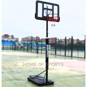Movable Basketball Post With Roller Tires   Sports Equipment for sale in Lagos State, Surulere