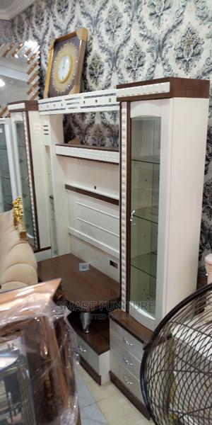 High Classic Full Luxury Tv Stand Unit   Furniture for sale in Lagos State, Ajah