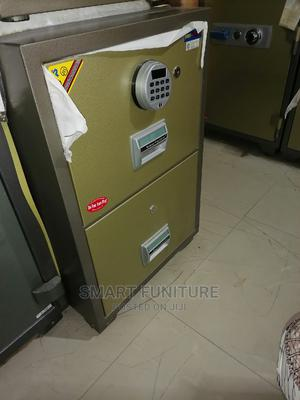 Classic 2 Drawers Digital Fireproof Metal Safe | Safetywear & Equipment for sale in Lagos State, Lekki
