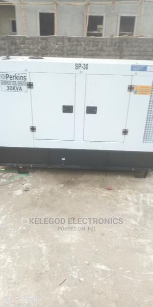Uk Engine 30kva Soundproof Diesel Generator | Electrical Equipment for sale in Lagos State, Ikeja