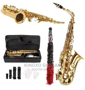 Yamaha Alto Saxophone Gold | Musical Instruments & Gear for sale in Lagos State, Ojo