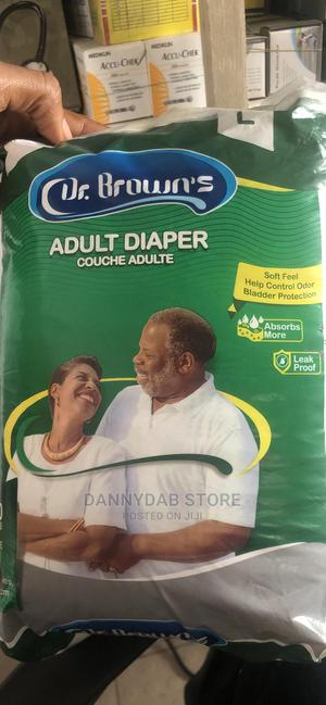 Dr Brown Adult Diaper | Bath & Body for sale in Lagos State, Isolo