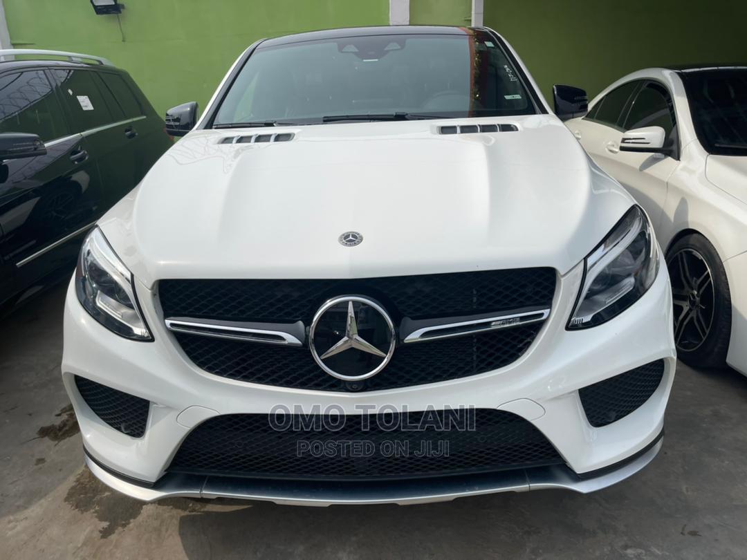 Mercedes-Benz GLE-Class 2018 White