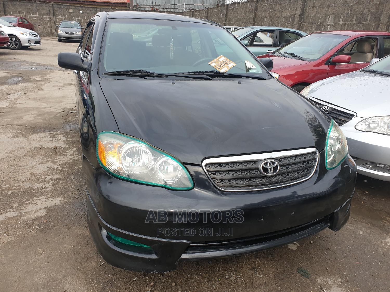 Toyota Corolla 2007 LE Black | Cars for sale in Apapa, Lagos State, Nigeria