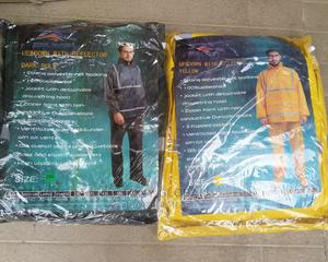 Polyester Up and Down Raincoat With Reflector | Safetywear & Equipment for sale in Lagos State, Lagos Island (Eko)