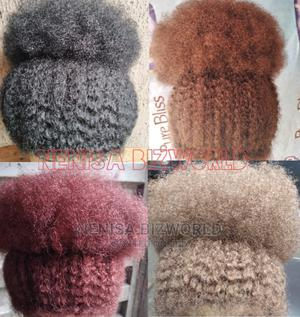 Natural and Full Afro Kinky Wig Hair - All Colours Available   Hair Beauty for sale in Lagos State, Kosofe