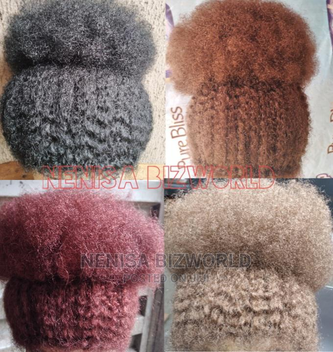 Natural and Full Afro Kinky Wig Hair - All Colours Available