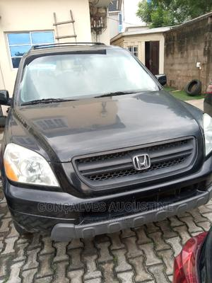 Honda Pilot 2005 EX 4x4 (3.5L 6cyl 5A) Black | Cars for sale in Lagos State, Magodo